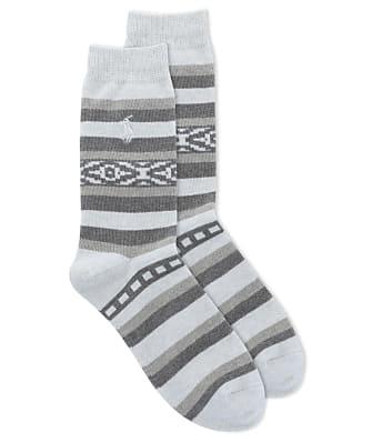 Ralph Lauren Safari Stripe Crew Socks