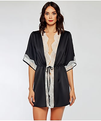 iCollection Lucia Satin Robe