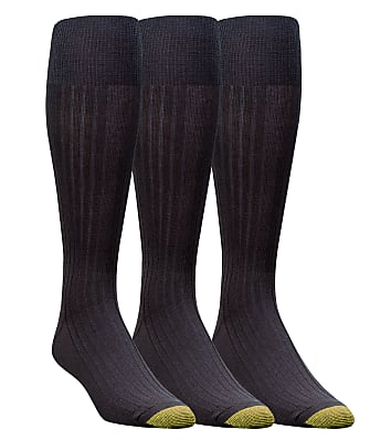 Gold Toe Canterbury Over The Calf Dress Socks 3-Pack
