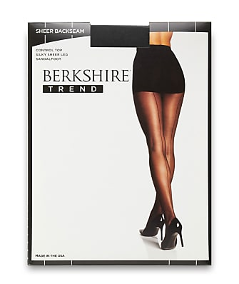Berkshire Sheer Back Seam Control Top Pantyhose