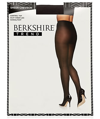 Berkshire Chevron Control Top Pantyhose