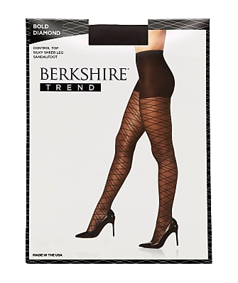 Berkshire Bold Diamond Control Top Pantyhose