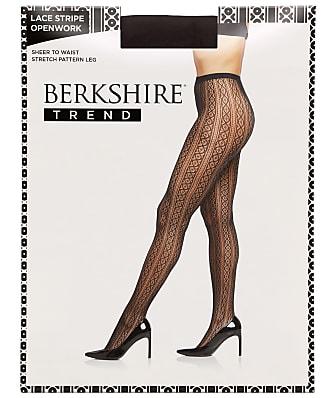 Berkshire Lace Stripe Net Tights