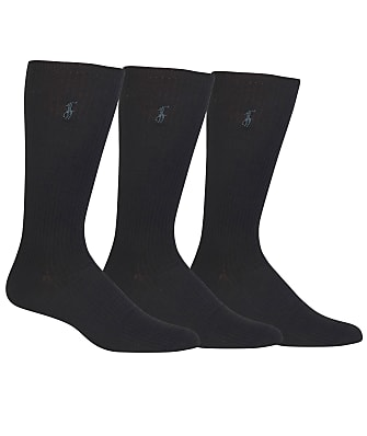 Polo Ralph Lauren Big & Tall Combed Cotton Crew Socks 3-Pack