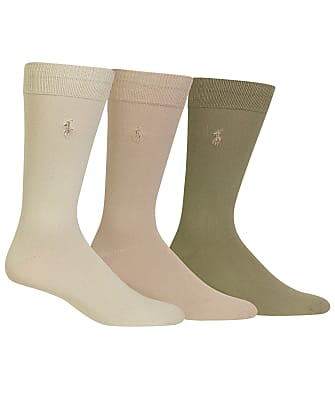 Polo Ralph Lauren Big & Tall Super Soft Knit Dress Socks 3-Pack