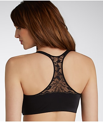 Lilyette Elegant and Smooth Front-Close T-Back Bra
