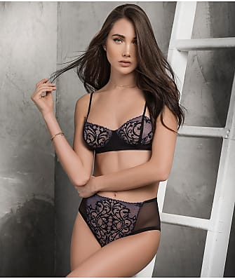f590c14dd10aa Mapalé Sheer Mesh Bra   High-Waist Panty Set