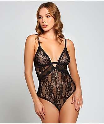 iCollection Camellia Lace Teddy