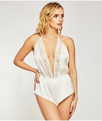 iCollection Elissa Satin Romper