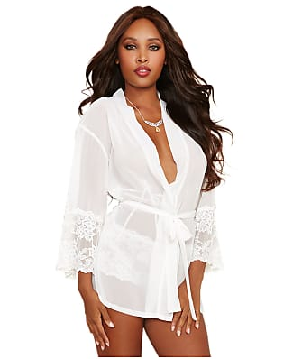 Dreamgirl Chiffon and Lace Robe Set
