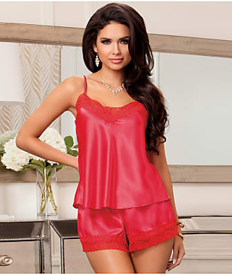 iCollection Satin Cami & Short Set