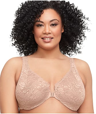 Glamorise WonderWire Lace Front-Close Bra