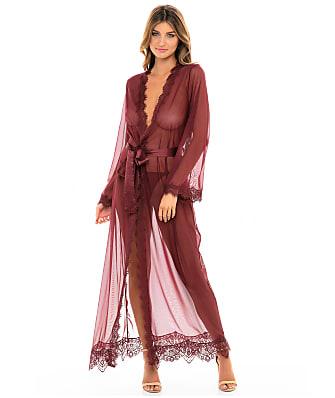 Oh Là Là Chéri   Provence Floor Length Mesh & Lace Robe Set
