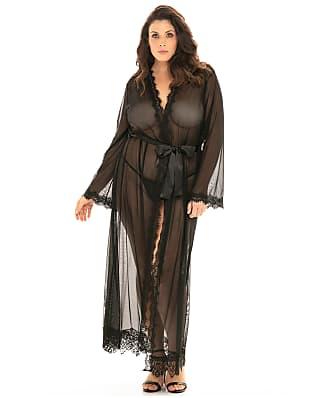 Oh Là Là Chéri   Plus Size Provence Floor Length Robe Set