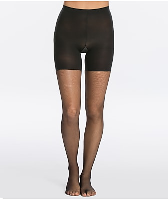 SPANX Micro Fishnet Mid-Thigh Shaping Tights