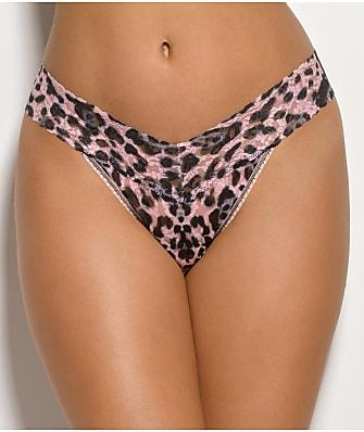 Hanky Panky Pretty Leopard Original Rise Thong