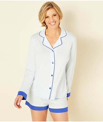 Cosabella Bella Knit Top & Boxer Pajama Set