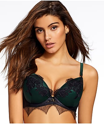 Ann Summers Forest Lace Plunge Push-Up Bra