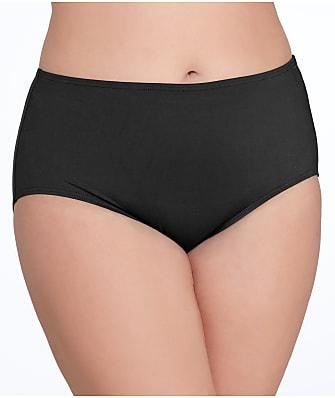 Anne Cole Signature Plus Size Solid Control Bikini Bottom