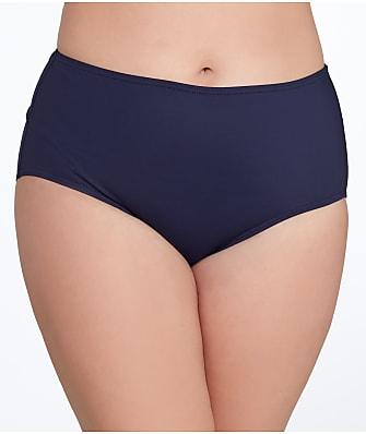 Anne Cole Signature Solid Control Bikini Bottom Plus Size