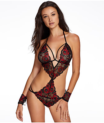 Ann Summers Brielle Crotchless Teddy Set
