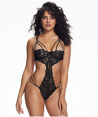 Ann Summers Nadia Crotchless Teddy