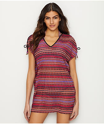 Anne Cole Signature Stevie Stripe Tunic Cover-Up