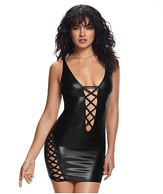 Ann Summers Samara Wet Look Wireless Chemise