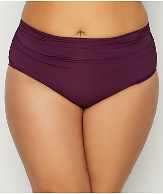 Anne Cole Signature Plus Size Live In Color Convertible Bikini Bottom