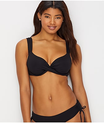 Anne Cole Signature Live In Color Twist Front Bikini Top