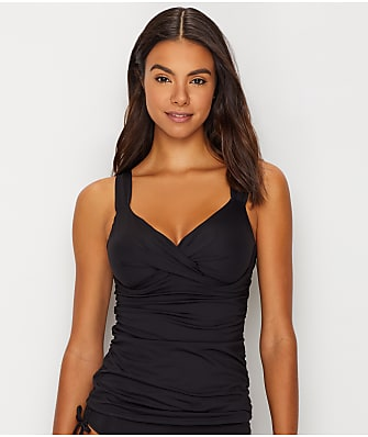 Anne Cole Signature Live In Color Underwire Twist Tankini Top