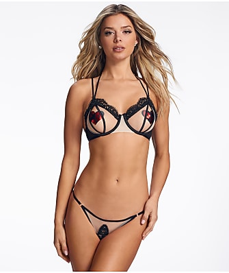 Ann Summers Flaunt It Open Cup & Crotchless Panty Set