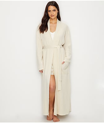 Arlotta Cable Knit Cashmere Robe