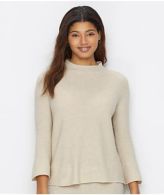 Arlotta Cashmere Mock Neck Lounge Top