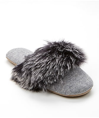 Arlotta Faux Fur Cashmere Slippers