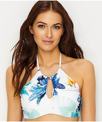 Azura Calypso High Neck Underwire Bikini Top D-Cups