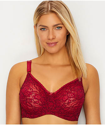 Bali Lace 'N Smooth Lace Bra