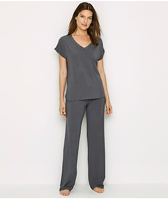 Barefoot Dreams Luxe Milk Jersey Modal Pajama Set