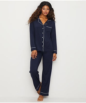 Barefoot Dreams Luxe Milk Jersey Piped Modal Pajama Set