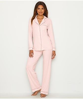 Barefoot Dreams Luxe & Milk Jersey® Piped Pajama Set