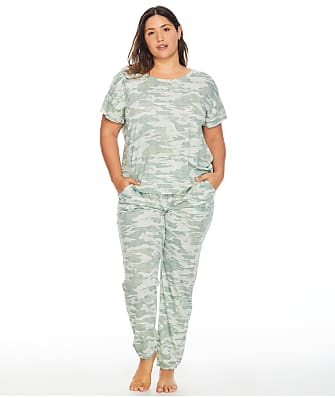 Bare Necessities Wear Ever Draped T-Shirt & Relaxed Jogger Set