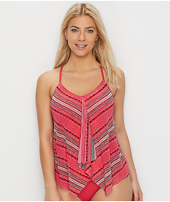 Beach House Drift Away Kerry Underwire Tankini Top