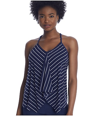 Beach House Ready Or Yacht Kerry Underwire Tankini Top