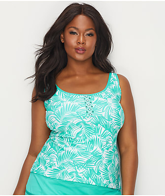 Beach House Plus Size Cape Palm Riley Tankini Top