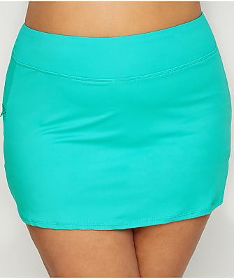 Beach House Plus Size Paloma Skirted Bikini Bottom