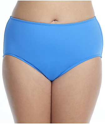 Beach House Plus Size Paloma Beach High-Waist Bikini Bottom