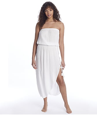 Becca Ponza Woven Cover-Up Dress