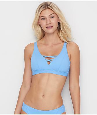 Becca Fine Line Bralette Bikini Top D-F Cups