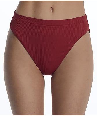Becca Fine Line High-Waist Bikini Bottom