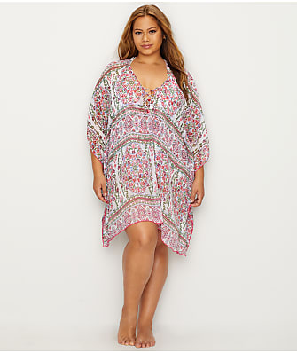 BECCA ETC Plus Size Granada Chiffon Cover-Up